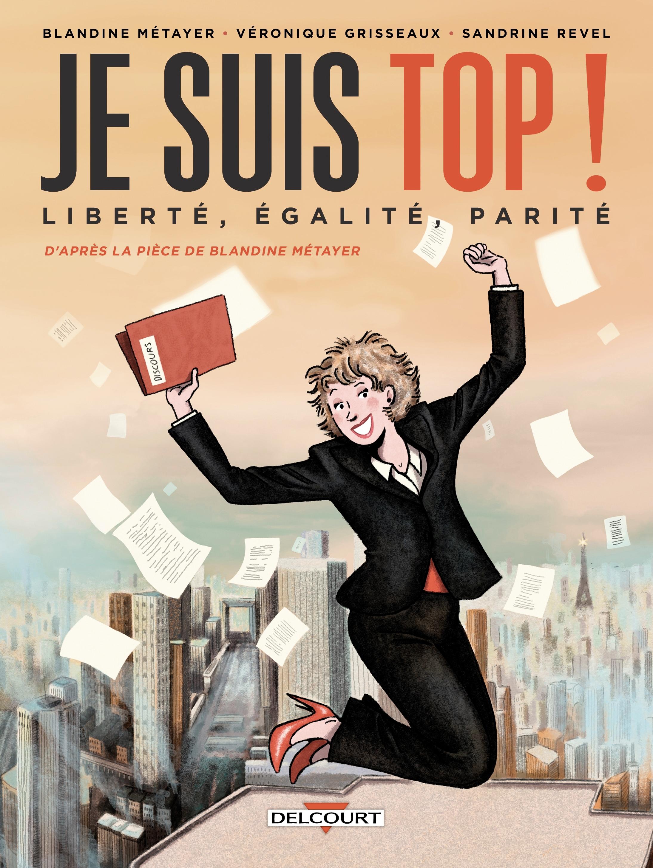 """""""Je suis top"""" : l'égalité femme/homme en BD"""