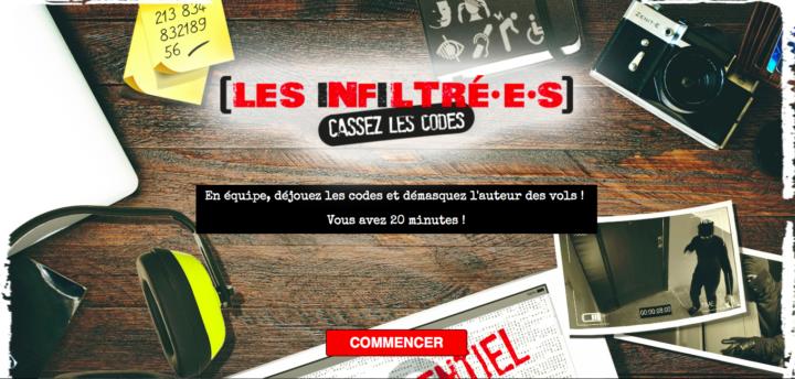 HANDICAP & INNOVATION : LES INFILTRE·E·S, LE NOUVEAU JEU D'ENQUETE SUR LE HANDICAP